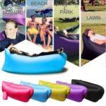 El sofa auto-inflable: la tumbona ideal para la playa
